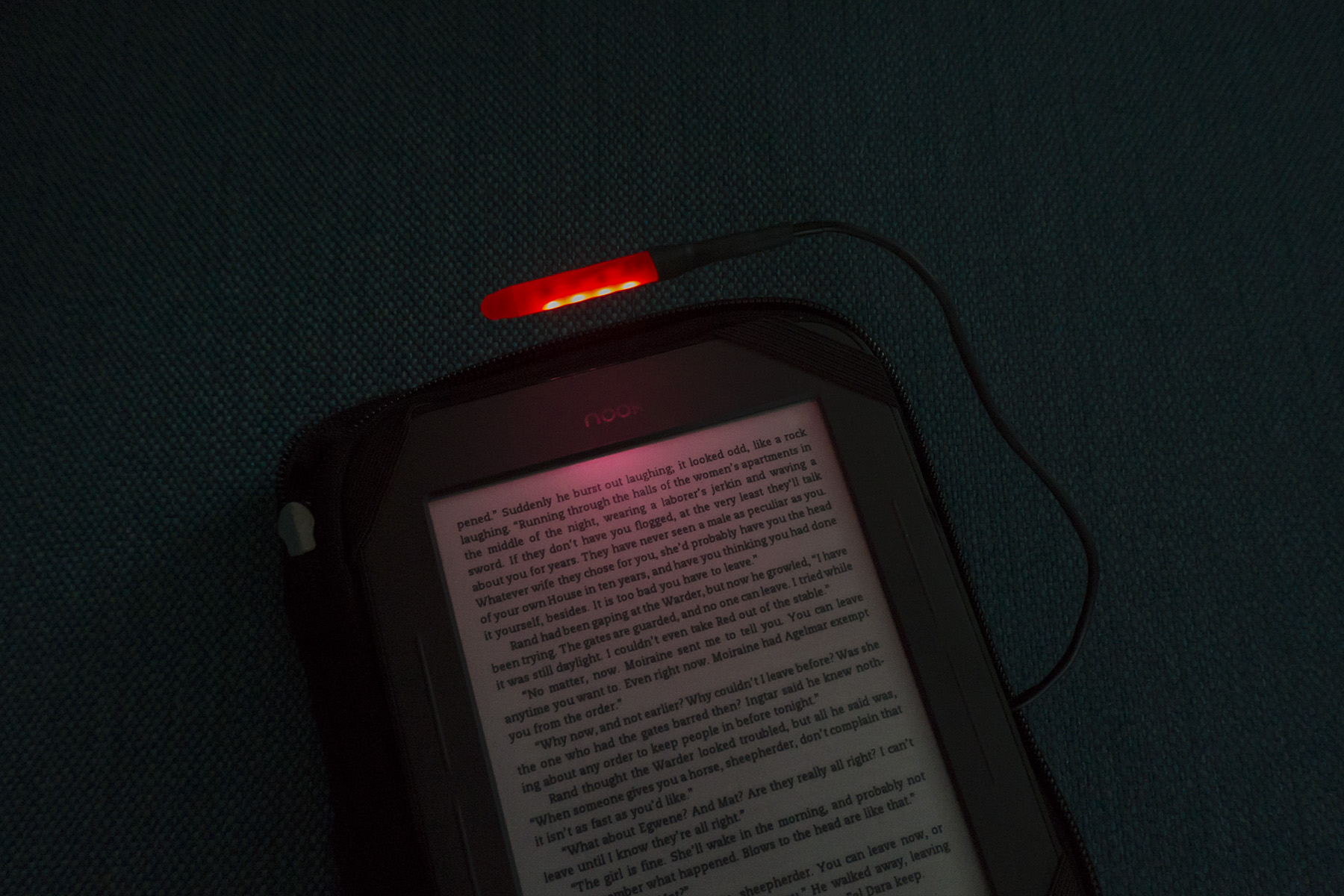 low-current lamp red led diode book light e-book handmade